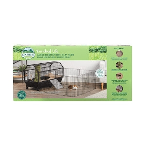 Oxbow Enriched Life Habitat with Play Yard