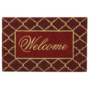 Bacova Guild Koko Welcome Doormat, 18 x 28 inches