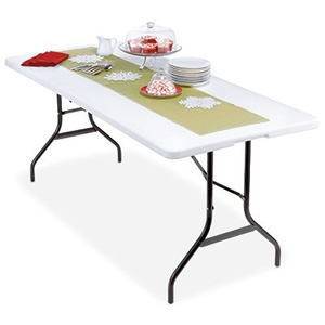 Wok & Pan Ind Inc. Deluxe Banquet Table, Lightweight, 30 x 72-In.