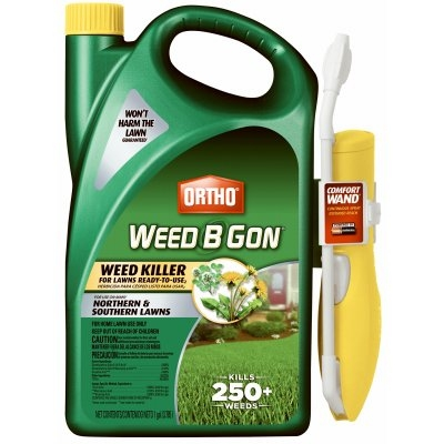 Ortho Weed B Gon Lawn Weed Killer, 1 Gallon Ready to Use
