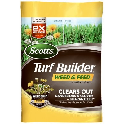 Turf Builder Weed & Feed Fertilizer, Covers 5000 sq. ft.