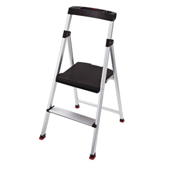 Lightweight Aluminum 2-Step Stool