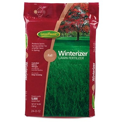 Green Thumb Premium Fall Winterizer Lawn Fertilizer, 5,000 sq. ft.