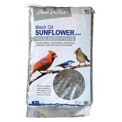 Black Oil Sunflower Bird Seed, 20 lbs.