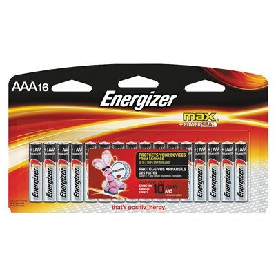 16 pk. Energizer MAX® AAA Batteries