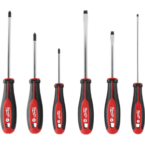 6 pc Screwdriver Set