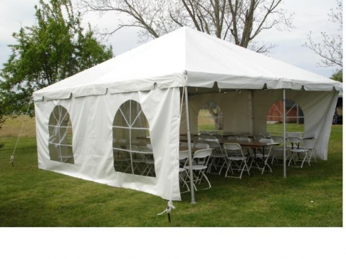20 x 20 Frame Tent with Sidewalls & 20 x 20 Frame Tent with Sidewalls | True Value Rental Medford NJ