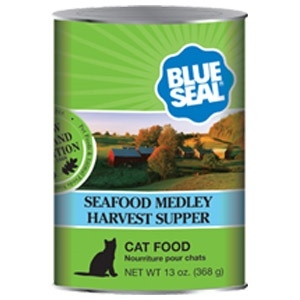 Life Stages Seafood Medley Harvest Supper Canned Cat Food