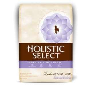 Holistic Select Radiant Adult Health Chicken Meal & Rice Dry Dog Food