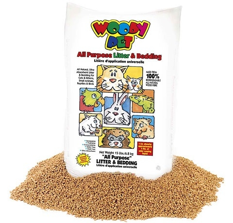 Woody Pet Pelleted Pet Bedding
