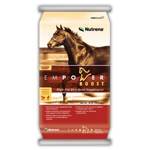 Nutrena® Empower® Boost High-Fat Rice Bran Horse Supplement