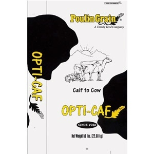 Poulin Opti-C A F  Calf Starter | G M  Thompson and Sons, Inc