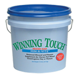 Winning Touch® Mixed Hay Min-A-Vite™
