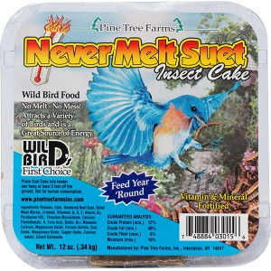 Never Melt Suet Insect Cake