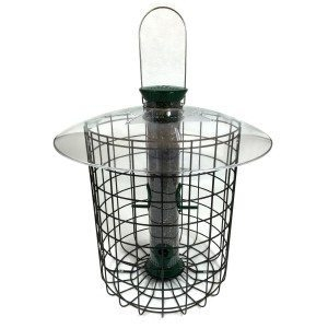 Sunflower Domed Cage Feeder- Green