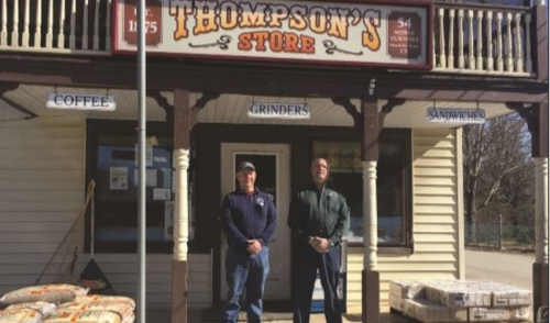 As seen in the Chronicle- G.M. Thompson and Sons has deep roots