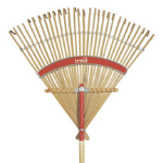Deluxe Bamboo Rake 30 Inches