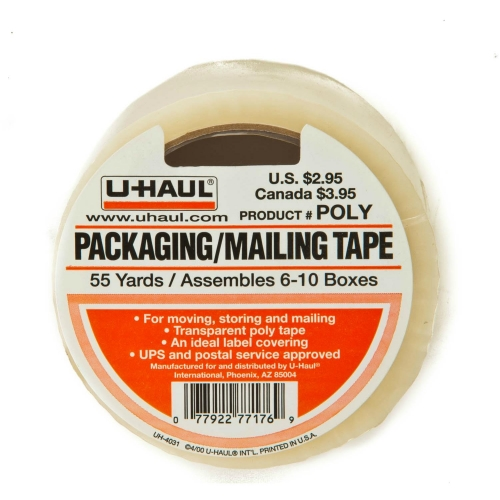 Tape  Clear Poly 55 Yards.  Fits Tape Gun
