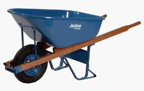 Wheelbarrow Heavy Duty 5 Cu.Ft. Capacity  Jackson