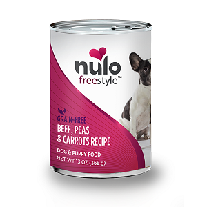 Nulo FreeStyle™ Grain-Free Canned Beef, Peas, & Carrots Recipe