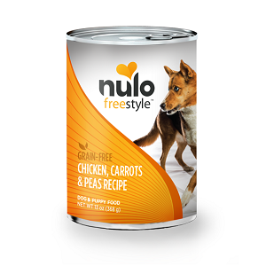 Nulo FreeStyle™ Grain-Free Canned Chicken, Carrots, & Peas Recipe