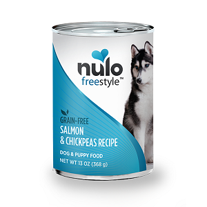 Nulo FreeStyle™ Grain-Free Canned Salmon & Chickpeas Recipe