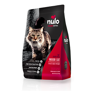 Nulo MedalSeries™ Indoor Cat Trout & Duck Recipe