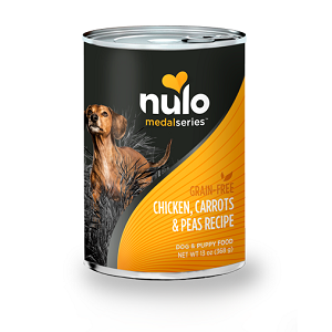 Nulo MedalSeries™ Grain-Free Canned Chicken, Carrots, & Peas Recipe