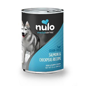 Nulo MedalSeries™ Grain-Free Canned Salmon & Chickpeas Recipe