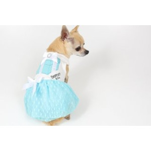 Luna Blue's Sniffany Love Gift Box Blue Heart Dress