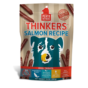 Plato Pet Treats Salmon Thinkers