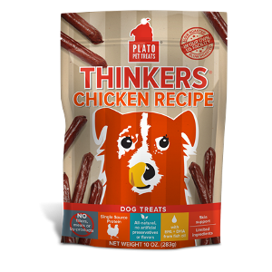 Plato Pet Treats Chicken Thinkers