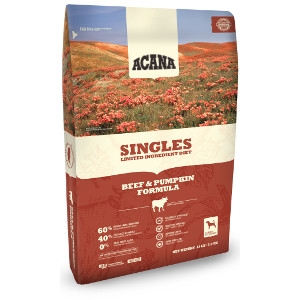 ACANA Singles Beef & Pumpkin Formula Dog Food