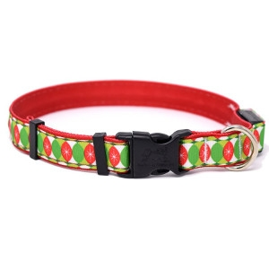Yellow Dog Design Christmas Cheer ORION LED Dog Collar