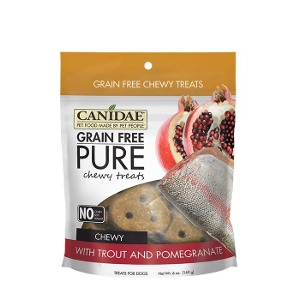 Canidae Grain Free Pure Trout & Pomegranate Chewy Treat