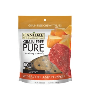 Canidae Grain Free Pure Bison & Pumpkin Chewy Treat
