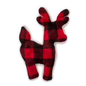 West Paw Ruff-N-Tuff Reindeer Dog Toy