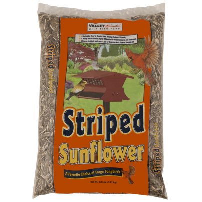 Valley Splendor Striped Sunflower Bird Seed