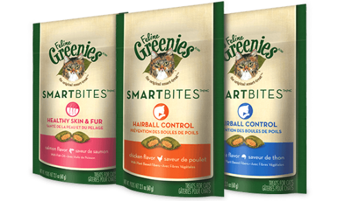 Greenies Smartbites Hairball Control Chicken