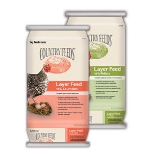 Nutrena® Country Feeds® Layer 16% Feed Crumbles