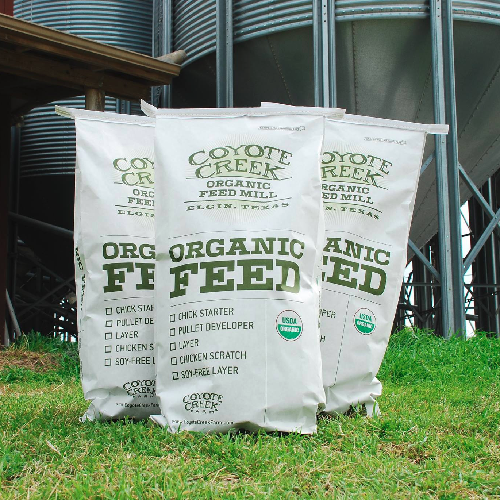 Coyote Creek Organic Soy-Free Layer Ration