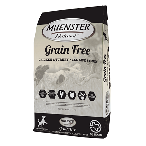 Muenster Natural™ Grain Free All Life Stages Dog Food