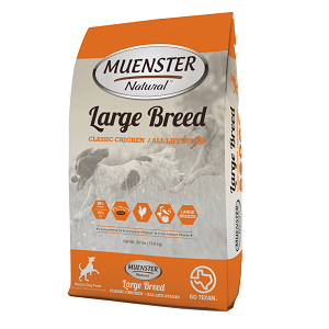 Muenster Natural™ Large Breed Classic Chicken Dog Food