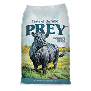 Taste of the Wild Prey Angus Beef Limited Ingredient Formula for Dogs