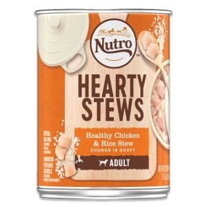 Hearty Stews Healthy Chicken & Rice Stew Chunks in Gravy