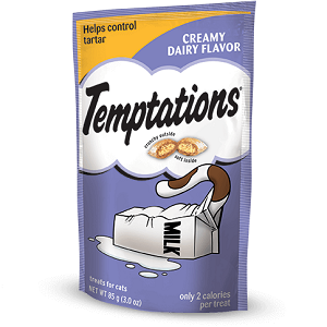 TEMPTATIONS™ Classic Creamy Dairy Cat Treats 3oz