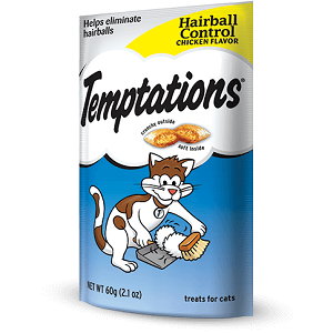 TEMPTATIONS™ Essentials Hairball Remedies For Cats 2.1oz