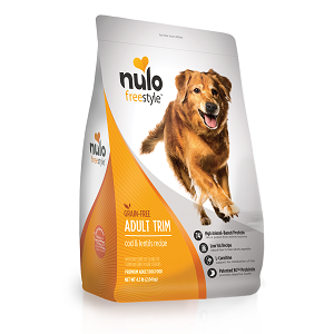 Nulo Adult Trim Cod & Lentils Recipe for Dogs 4.5lb