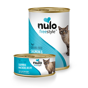 Nulo Cat & Kitten Salmon & Mackerel Pate Canned Recipe 5.5oz