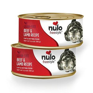 Nulo Cat & Kitten Beef & Lamb Pate Canned Recipe 5.5oz